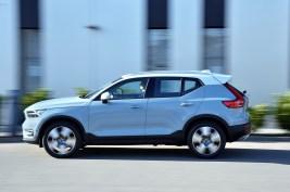 Der Volvo XC40 bekommt einen vollelektrischen Ableger. Foto: Volvo