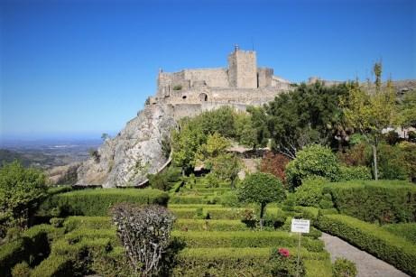 Der Kern des malerischen Bergstädtchens Marvao ist die Burg innerhalb der Stadtmauern. © Kurt Sohnemann