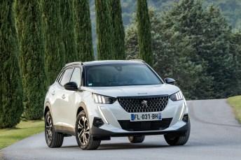 Peugeot stellt den neuen 2008 im Luberon vor. © Peugeot / Markus Heimbach