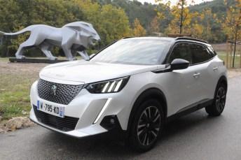 Gut gebrüllt, Löwe: Peugeot steigt mit dem 2008 und dem Schwestermodell 208 groß in die Elektromobilität ein. © Jürgen Strein / mid