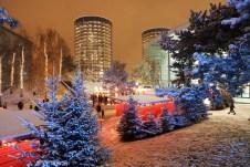 Winter-Wunderwelt in der Autostadt. Foto: Auto-Medienportal.Net/Autostadt