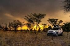 Die Faszination Afrika ist im Übrigen auch für jedermann buchbar. Die Land Rover Experience Reisen führen 2020 unter anderem nach Namibia und Botswana – zwei der Länder, die Teil des Kaza-Naturschutzgebiets sind. © Land Rover