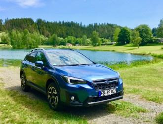 """Den Verbrauch (ECE) gibt Subaru mit 6,9 Liter an, im """"wirklichen Leben"""" konsumiert der XV zwei Liter mehr. © Klaus H. Frank"""