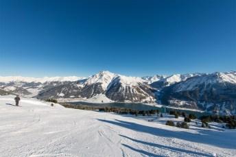 Schneespaß in beeindruckendem Bergpanorama Bildquelle: Schöneben-Haideralm