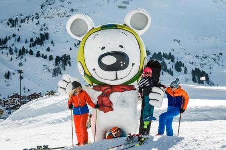 Skifahren lernen für Kinder. © Tourismusverband Obertauern