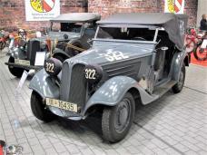 Seltener BMW 309 als (Nachrichten)-Kübelwagen aus der Sammlung Silberhorn Classics