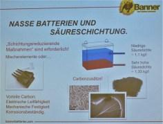 Das Nassbatterien-Problem der Säureschichtung hat man bei Banner im Griff.