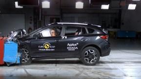 Das Crossover-SUV Subaru XV bietet ein uneingeschränkt hohes Sicherheitsniveau auch mit elektrischer Unterstützung. © Subaru