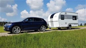 Audi Q5 mit Dethleffs Coco Lounge. Foto: Auto-Medienportal.Net/Michael Kirchberger