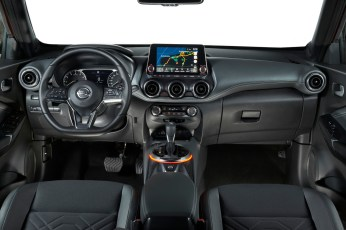 Innere Werte: Weiche Materialien und moderne Elektronik machen den neuen Juke zur Komfortzone. © Nissan