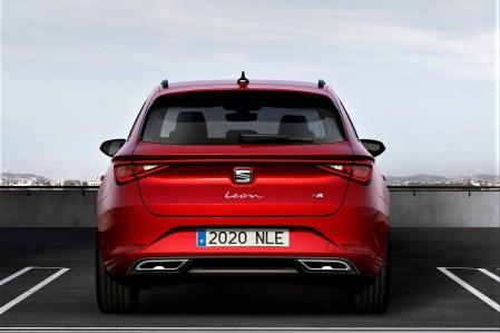 Als Fünftürer des Seat Leon bietet der Kompaktwagen ein Gepäckraumvolumen von 380 Litern. © Seat