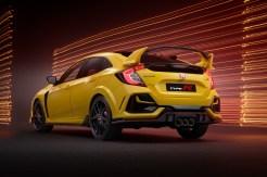 Das Gelbe vom Ei: der Honda Civic Type R in der Limited Edition. © Honda