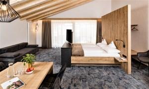 Die neuen luxuriösen Suiten. © Hotel Schneeberg