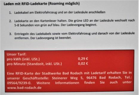 Eigentlich günstig sind die Stromkosten der Stadtwerke Bad Rodach