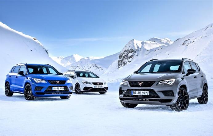 Das Cupra-Power-Trio. © Cupra