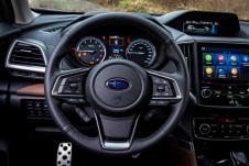 Drei Displays sorgen für perfekte Information. © Subaru