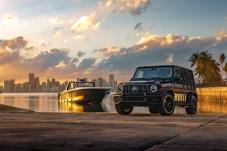 Haben viel gemeinsam: die neue 59' Tirranna AMG Edition und die Mercedes-AMG G 63 Cigarette Edition. © Daimler