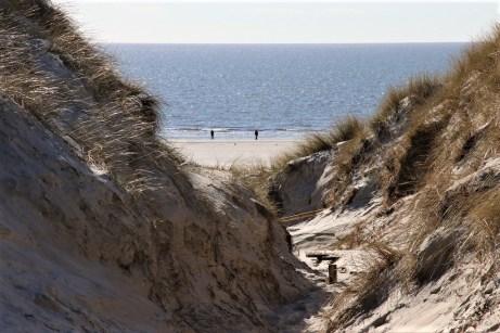 Hinter den Dünen erschließt sich ein kilometerlanger Strand aus feinem, weißen Sand. © Kurt Sohnemann