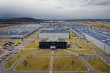 Großzügig dimensioniert: Das Hyundai-Werk in Tschechien produziert pro Jahr 300.000 Autos verteilt auf acht Modellreihen. © Hyundai