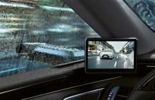 Digitaler Außenspiegel des Lexus ES. Foto: Auto-Medienportal.Net/Lexus