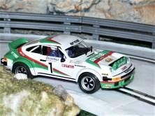 """Porsche 911 von Ninco auf """"vereister"""" Piste (Archivfoto). Foto: Auto-Medienportal.Net/Jens Riedel"""
