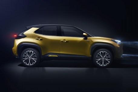 Auch die Cross-Variante des Toyota Yaris basiert auf der GA-B-Plattform. © Toyota