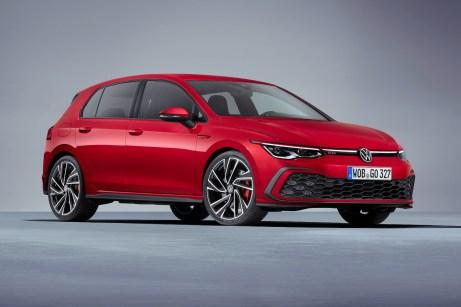 Typisch Golf, typisch GTI: Das VW-Designteam hat dem neuen Kompaktsportler einen schicken Sportdress geschneidert. © VW