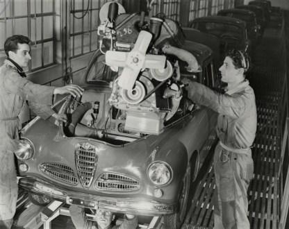 Mit dem Modell 1900 führte Alfa Romeo 1950 die Fließbandproduktion ein. Foto: Auto-Medienportal.Net/FCA