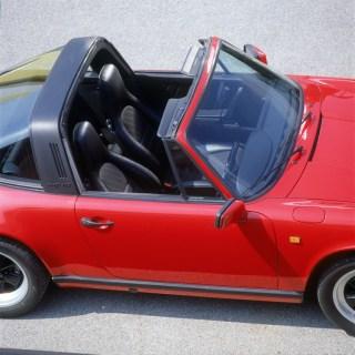 Porsche 911 Carrera 2 Targa (1989). Foto: Auto-Medienportal.Net/Porsche