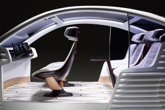 Das Auto der Zukunft ist ein mobiler, multifunktionaler Wohn- und Arbeitsraum. © Covestro