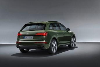 Die Heckleuchten des Q5 sind ab Herbst 2020 mit Oled-Technologie ausgestattet. © Audi