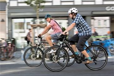 Fahrradfahrer in der Stadt. Foto: Auto-Medienportal.Net/pd-f/Kay Tkatzik