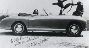 Alfa Romeo 6C 2500 SS: Danksagung von Rita Hayworth (1947). Foto: Auto-Medienportal.Net/FCA