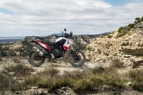 Die Wurzeln der Tenere gehen zurück bis ins Jahr 1976. Damals stellte Yamaha das Abenteuer-Motorrad XT500 vor. Mit ihrem drehmomentstarken Motor und dem kompakten Fahrwerk wurde die Einzylinder-Maschine schnell zum Hit der Szene. © Yamaha
