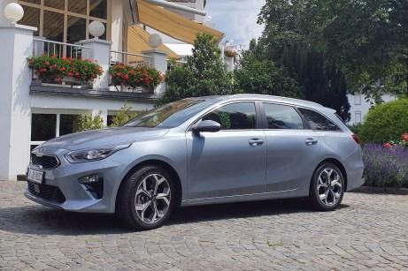 Eleganter Kompakt-Kombi: der Kia Ceed Sportswagon, hier mit Mild-Hybrid-Diesel. © Jutta Bernhard / mid
