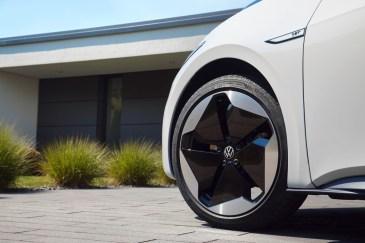 Für Elektroautos – hier ein VW ID 3 – empfehlen sich spezielle Reifen. Foto: Auto-Medienportal.Net/Volkswagen