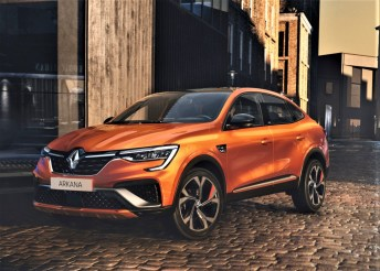 Der Renault Arkana platziert sich mit 4,57 Metern Länge zwischen Kadjar und Koleos. © Renault