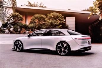 Die Elektro-Limousine der Superlative soll ab 2021 verkauft werden. © Lucid Motors