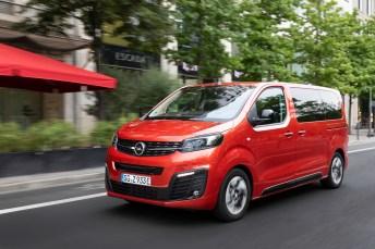 Äußerlich kaum vom Diesel zu unterscheiden: der Zafira-e Life. © Opel