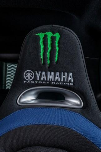 Die Klaue des Monster Drinks: Auch der Sitzbezug gibt einen Hinweis, wer als Partner mit im Boot sitzt. © Fiat