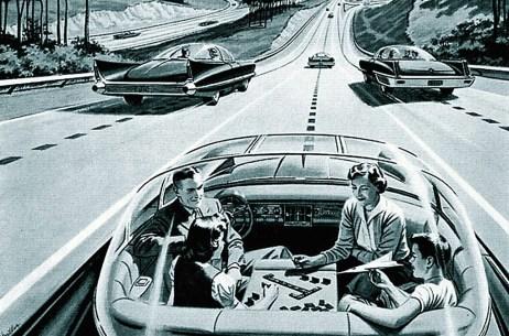 Autonomes Fahren: In den 50-ger Jahren des vergangenen Jahrhunderts ein Traum. Foto: Auto-Medienportal.Net/Wikipedia