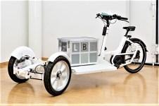 Lastenrad-Tricycle-Studie der Fraunhofer Gesellschaft. Foto: Auto-Medienportal.Net/Fraunhofer LBF