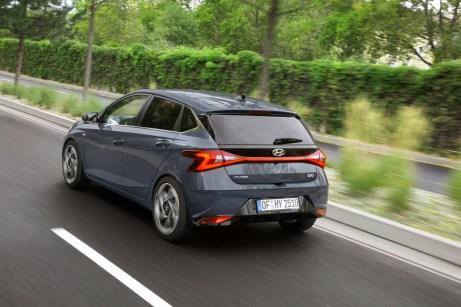 Kräftig: Für einen Kleinwagen macht der neue i20 einen ziemlich erwachsenen Eindruck. © Hyundai