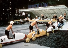 Seifenkisten-Rennen (1961). Foto: Auto-Medienportal.Net/Opel