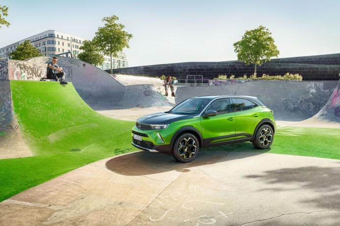 Der Mokka ist der erste Opel, der vom Marktstart an elektrisch vorfährt. © Opel