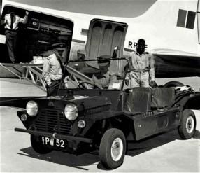 """Der """"Buckboard"""" wird beim britischen Militär getestet (1959). Foto: Auto-Medienportal.Net/The Hendy Group"""