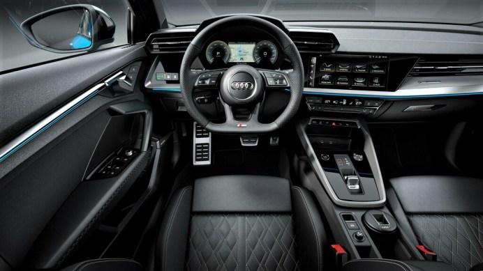 Cockpit des Audi A3 Sportback 40 TFSI e. Foto: Auto-Medienportal.Net/Audi