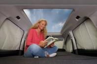 Eines der neuen Highlights ist das 1,4 Quadratmeter große Panorama-Glasdach. © VWN