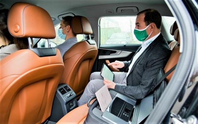 Fahrprüfung mit elektronischem Prüfprotokoll. Foto: Auto-Medienportal.Net/Dekra