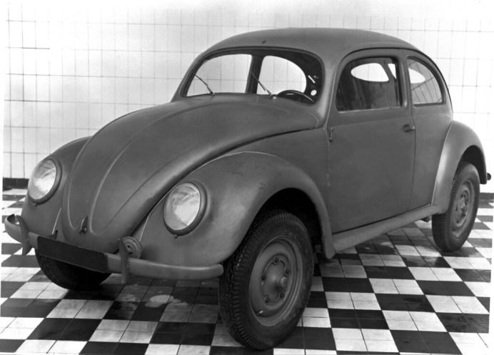Volkswagen Typ 1 (1945). Foto: Auto-Medienportal.Net/Volkswagen